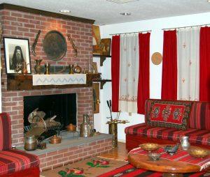 Traditional Epirotan livingroom.