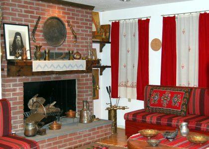 Traditional Epirotan Living Room