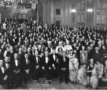 Society of Epirotes Anagenesis Dinner Dance, November, 1937.